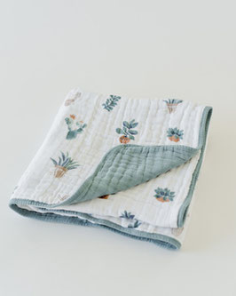 Cotton Muslin Quilt - Prickle Pots