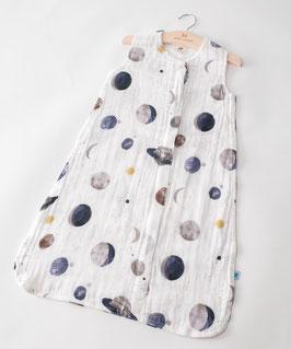 Cotton Muslin Sleeping Bag - Planetary
