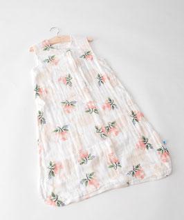 Cotton Muslin Sleeping Bag - Watercolor Rose