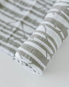 Cotton Muslin Swaddle Single - Birch