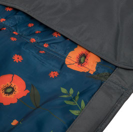 Outdoor Blanket - Midnight Poppy