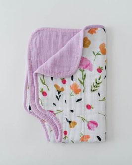 Cotton Muslin Burp Cloth  - Berry & Bloom