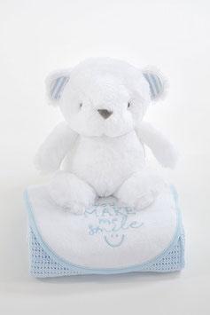 Geschenkset -  Bär blau