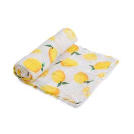 Cotton Muslin Swaddle Single - Lemon