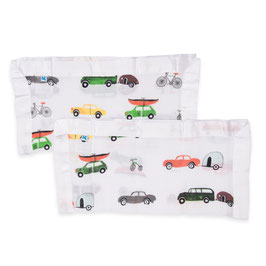 Cotton Muslin Security Blanket - Traffic Jam