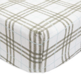 Brushed Crib Sheet - Pendleton Plaid