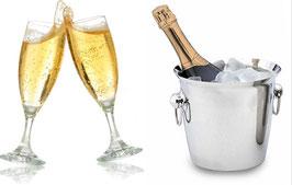 Bouteille de Champagne - Amuses bouches