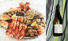 Plateau de fruits de mer pour 2 personnes