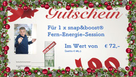 Gutschein Fern-Energie-Session inkl. 15 ml avinya Repair Emulsion