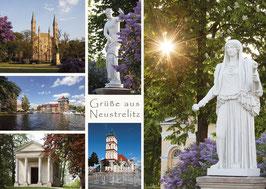 Ansichtskarte Neustrelitz Stadt