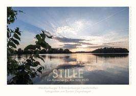 """Kalender """"Stille"""", 2020, Größe 20 x 30 cm"""