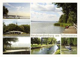 Ansichtskarte Neubrandenburg, Bestellnr. 80
