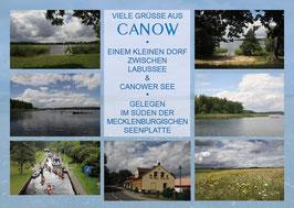 Ansichtskarte Canow