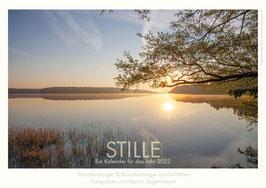 """Kalender """"Stille"""", 2022, Größe 20 x 30 cm"""