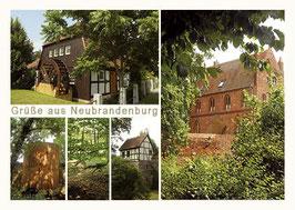 Ansichtskarte Neubrandenburg, Bestellnr. 78
