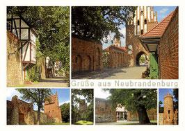 Ansichtskarte Neubrandenburg Bestellnr.  77