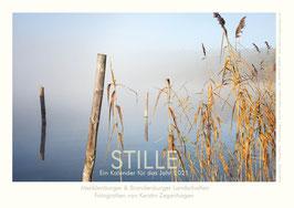 """Kalender """"Stille"""", 2021, Größe 42 x 29 cm"""