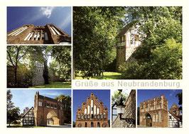 Ansichtskarte Neubrandenburg Bestellnr. 76