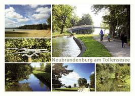 Ansichtskarte Neubrandenburg, Bestellnr. 81