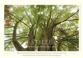 """Kalender """"Stille"""", 2017, Größe 20 x 30 cm"""