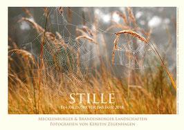 """Kalender """"Stille"""", 2018, Größe 20 x 30 cm"""