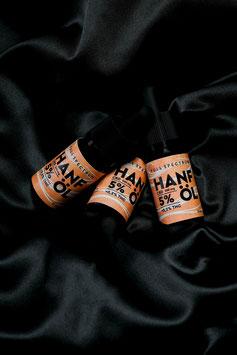 3x 10ml Hanf Aromaöl 5% CBD Vollspektrum <0,2 % THC