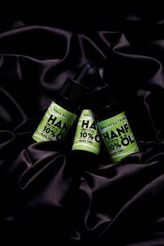 3x 10ml Hanf Aromaöl 10% CBD Vollspektrum <0,2 % THC