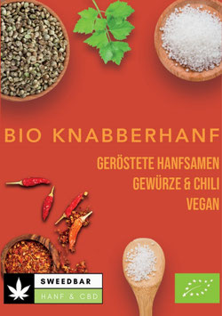 "Bio Knabberhanf ""Chili & Gewürze"""
