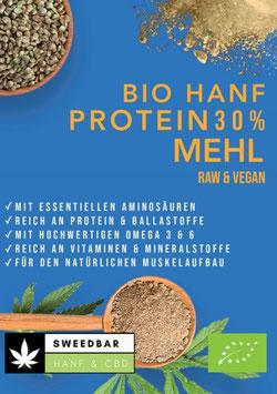 30% Protein Hanf- Mehl Bio, 49% Ballaststoffe