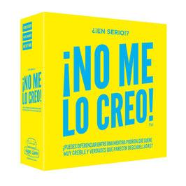 """JUEGO DE MESA """"¡NO ME LO CREO!"""""""