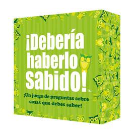 """JUEGO DE MESA """"DEBERÍA HABERLO SABIDO"""""""