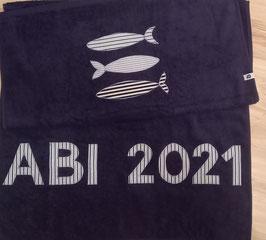 """Duschtuch """"ABI 2021"""""""