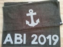 """Duschtuch """"ABI 2019"""""""