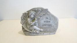 Gedenkstein Imitat mit Sinnesspruch