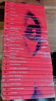 Collection Les grands classiques de la littérature libertine – 27 livres
