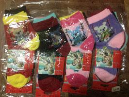 NEUF : 12 paires de chaussettes pour enfants , taille 17-21, pour les 1-3 ans