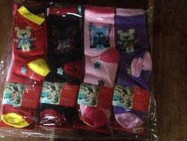 NEUF : 12 paires de chaussettes pour enfants , taille 32-36, pour les 10-12 ans