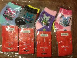 NEUF : 12 paires de chaussettes pour enfants , taille 22-26, pour les 4-6 ans