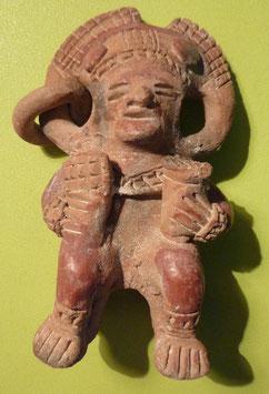 Sculpture précolombienne en terre cuite
