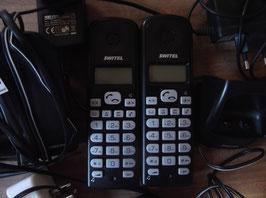 2 téléphones Switel DE3662