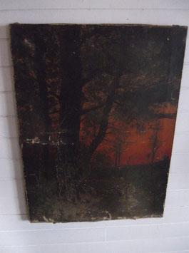 Paysage campagnard, de René Gourdon