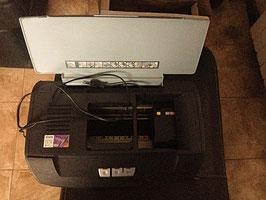 Imprimante Epson Stylus Photo  + Câble d'alimentation + Encre