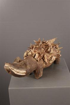 Crocodile fétiche Congo