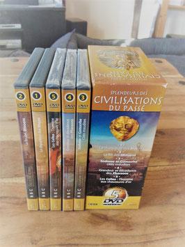Coffret Splendeurs des civilisations du passé