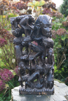 Magnifique sculpture dans la masse