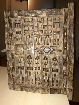 Porte Dogon (5H) - Porte de grenier