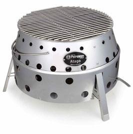 Petromax Atago: Achten sie auch auf das Komplettangebot mit Feuertopf FT 6 oder FT 9 und Deckelheber