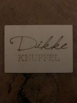 Dikke knuffel houten kaart