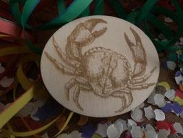 Krabbe broche krab