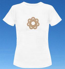 WOMEN`S CLASSIC T-SHIRT - SOL`A`VANA Kristall glitzergold - 7 Shirtfarben (S-XXL)